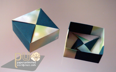 origami box, by Fuse