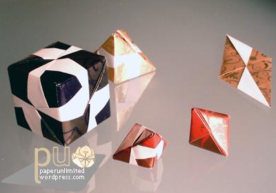 sonobe units polyhedra