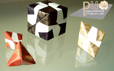 Kusudama Small Triambic Icosahedron (Sonobe Variation Unit) - YouTube | 250x400