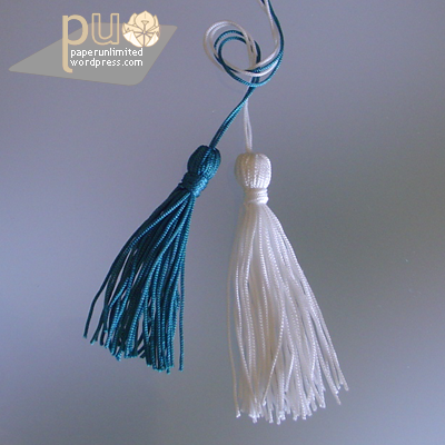 another two tassels…