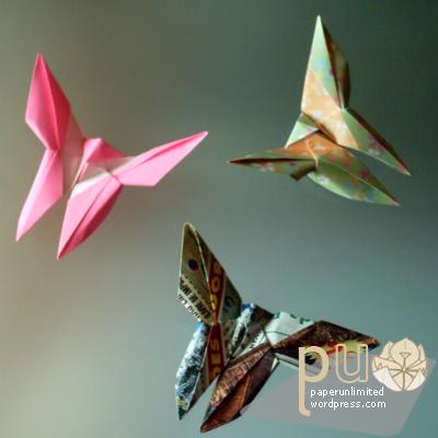 Fátima Granadeiro butterfly (variation of YOSHIWA Akira's butterfly)