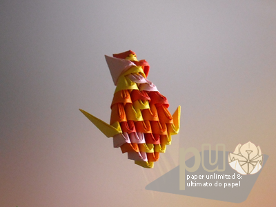 paper block fish