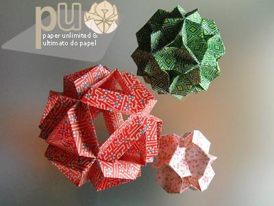 26 Wonderfully Delightful Modular Origami Kusudamas | 300x400